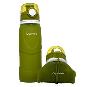 בקבוק שתיה מתקפל | ירוק זית