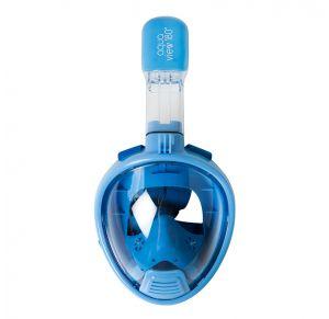 מסכת צלילה  לילדים Aquaview180° עם שנורקל מובנה | כחולה