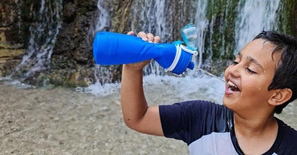 איך לבחור בקבוק מתקפל לטיולים?